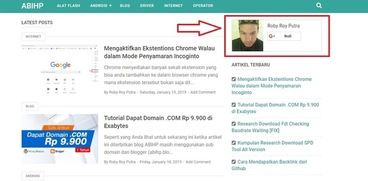 Menampilkan Google+ Badge di Blog AMP