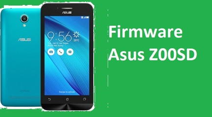 Firmware Asus Z00SD Via Flashtool