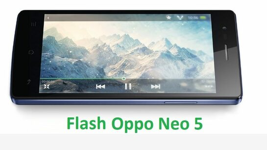 Cara Flash Oppo Neo 5 R1201