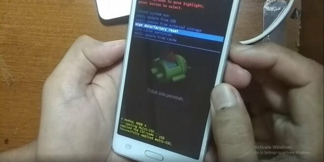 Hard Reset Samsung Grand Prime