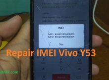Repair Imei Vivo Y53 fix